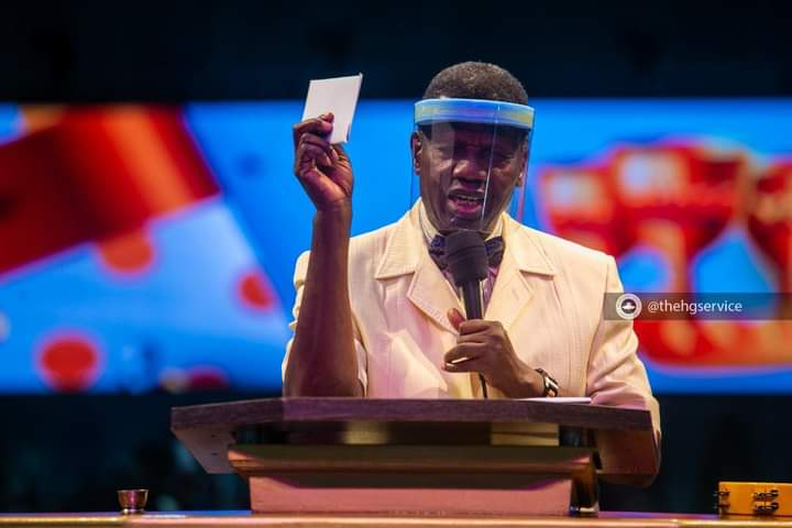 January 2021 Holy Communion Service Bible Text: 1 Kings 19:4-8 Topic: Refilling – Pastor Adeboye