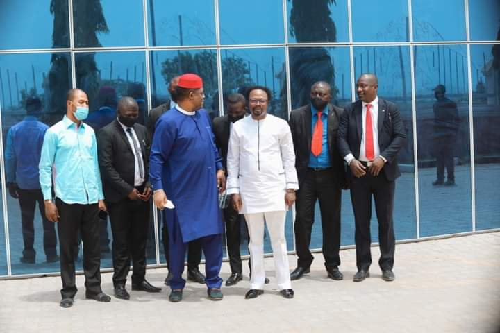 """Inside The Multi-Million Naira """"Joshua Iginla"""" Church Building In Abuja, Where FFK Visited and Called Magnificent"""