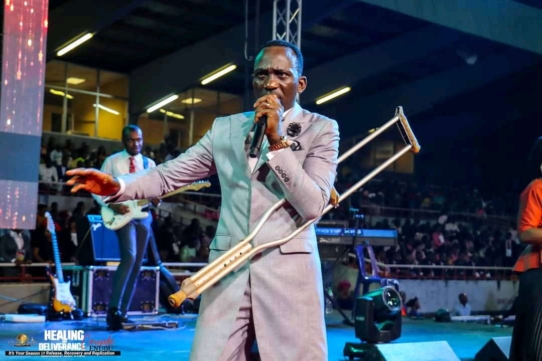 More Pictures from Pastor Paul Enenche's Enugu Healing And Deliverance Crusade