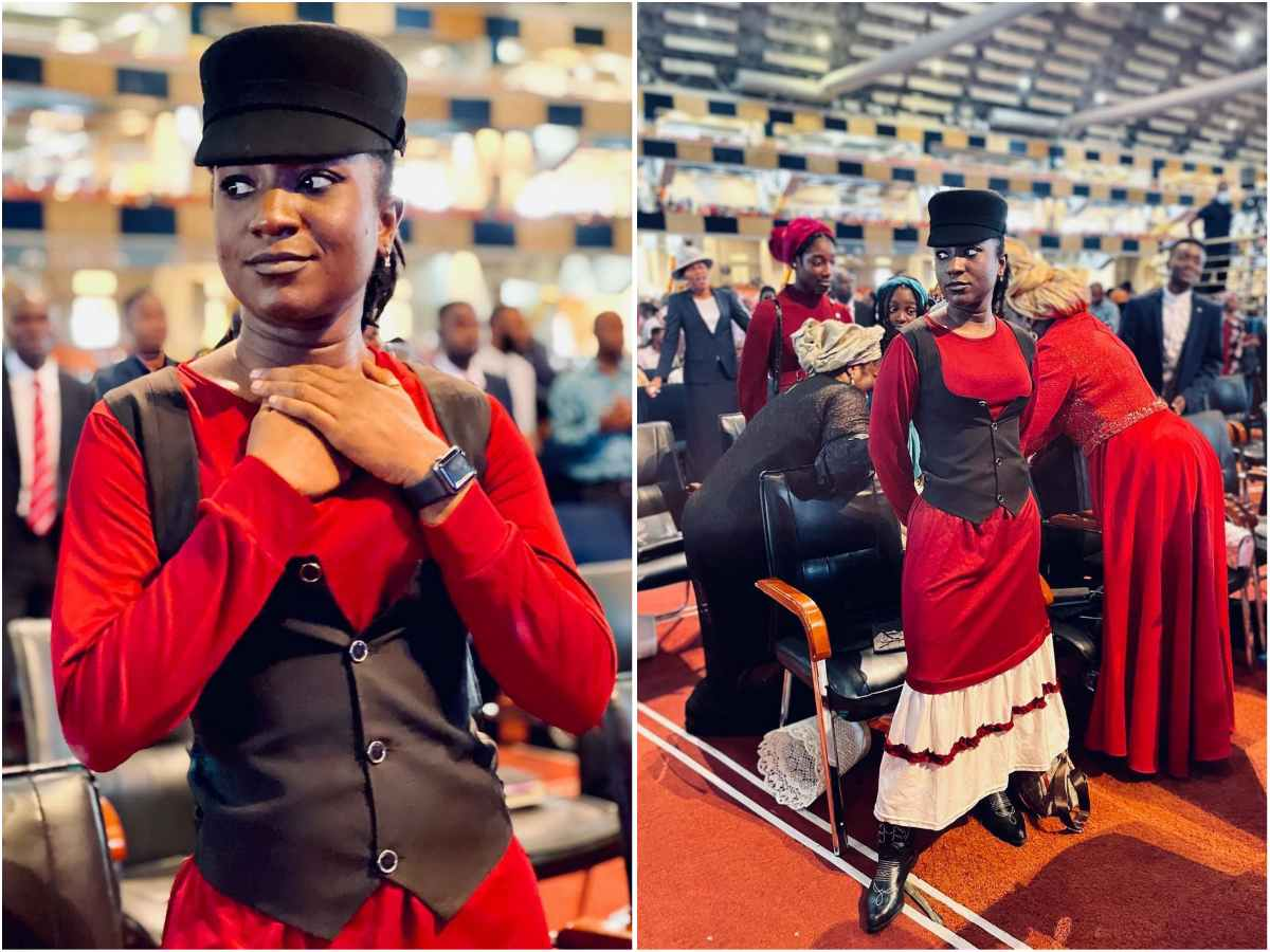 Your way of dressing is inspiring – Fans Reacts to Deborah Paul-Enenche's Sunday Dressing