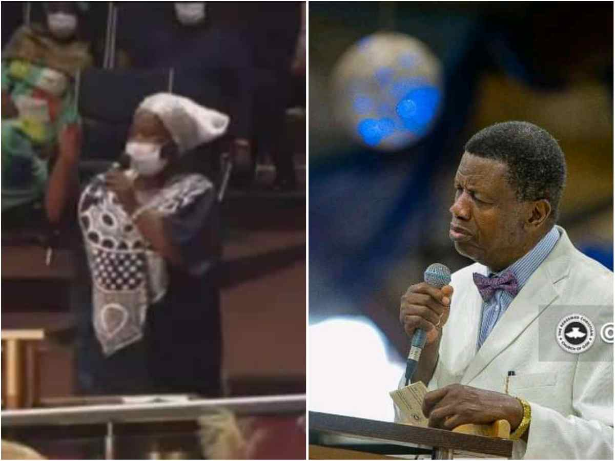 """""""Not the visa, not the stamp. Daddy Adeboye's picture gave me access to America"""" Woman narrates how she got to United States of America without Visa"""