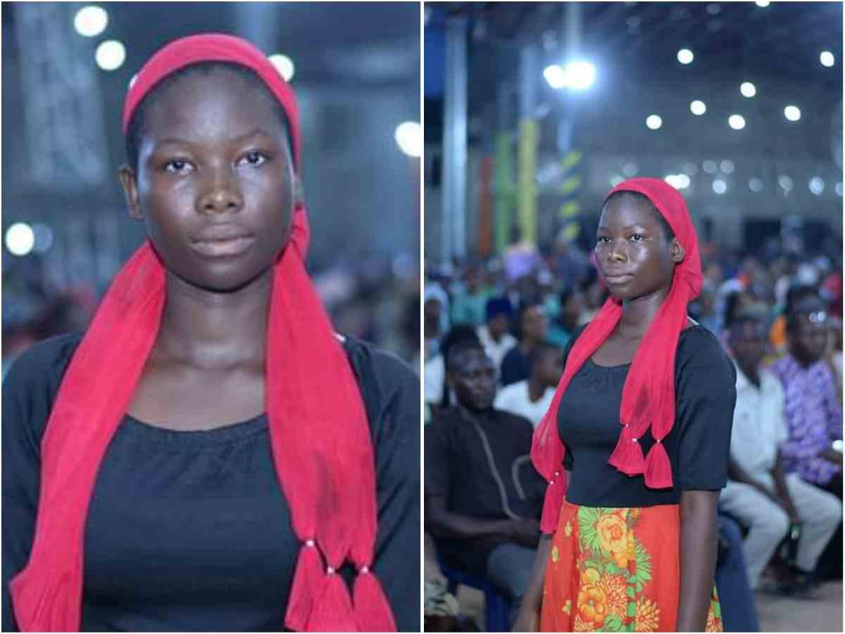 "Young Lady Eyesight Got Restored after saying ""Amen"" at Deeper Life Church Enugu Crusade"