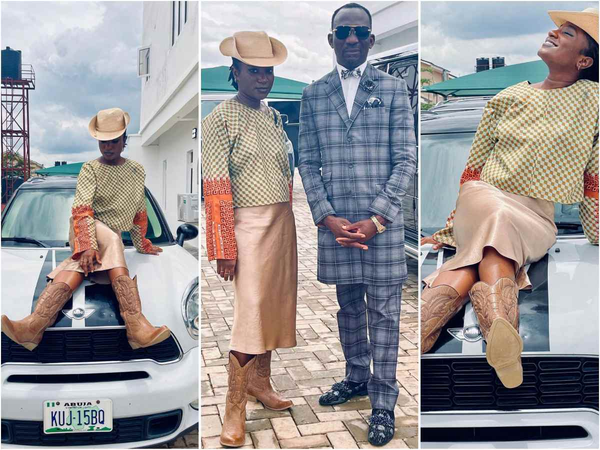 Standing out in style: Deborah Paul-Enenche Stirs controversy with Her cowgirl style