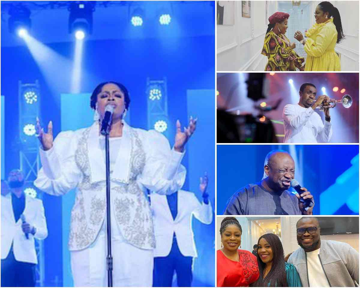 PHOTOS: Sinach Brings Together the Biggest Names of Gospel Music at Her 5DUT Concert In Lagos