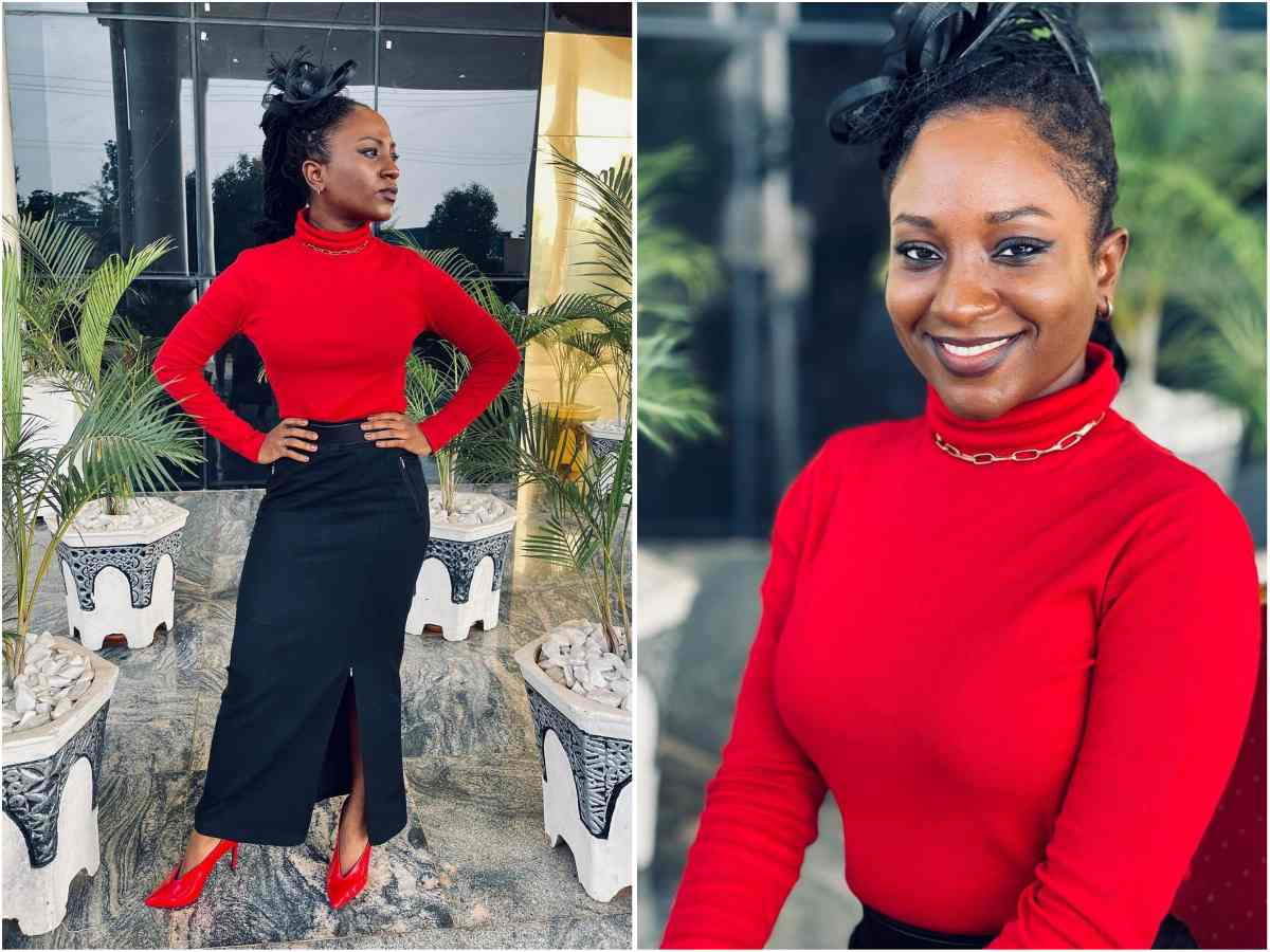 Deborah Paul Enenche Stirs reactions as she rocks unusual outfit to church