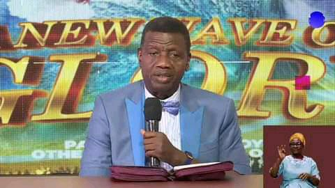 One question I always ask ladies who come for Ordination in wigs – Pastor Adeboye