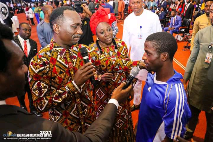 Man of 21 years of epilepsy and uncontrollable seizures healed at Dunamis Church