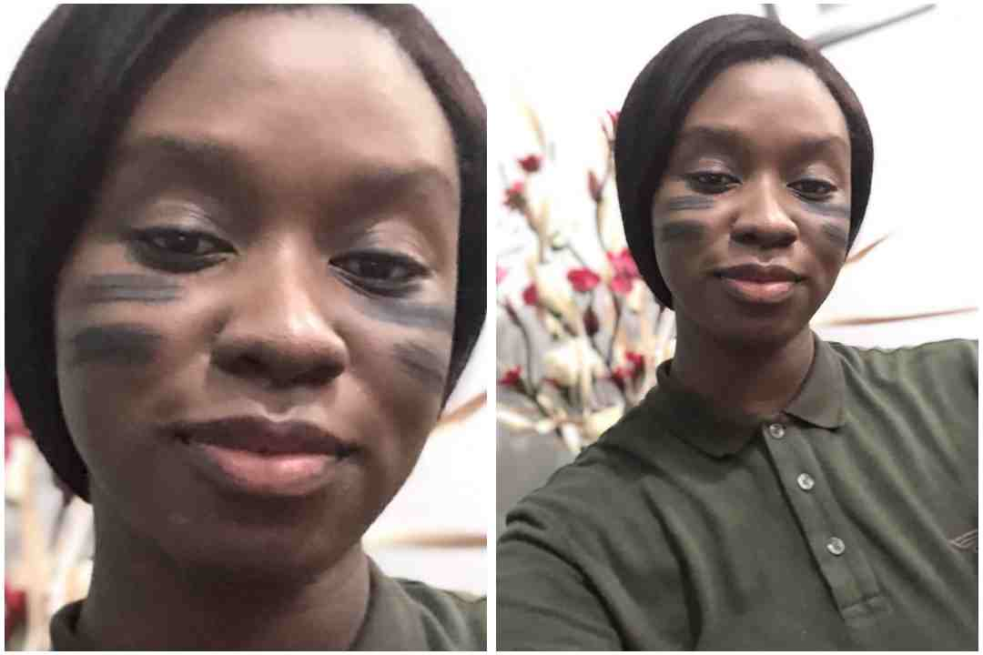 """""""This is Cat Woman And Bat Man""""- Fans React To Darasimi Oyor Funny New Look"""