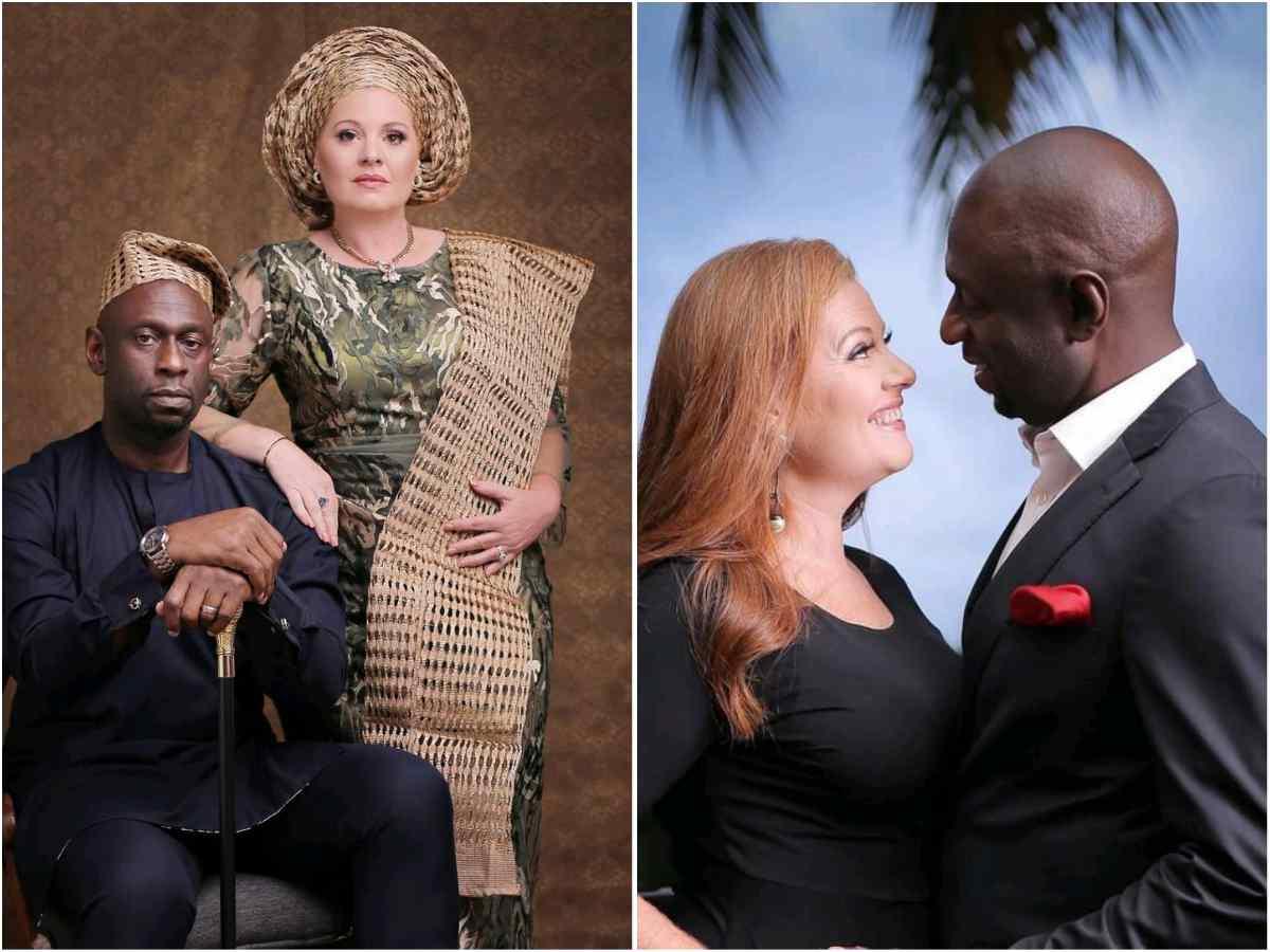 First Son of Late Archbishop Benson Idahosa Celebrates 19th Wedding Anniversary With His Oyinbo Wife