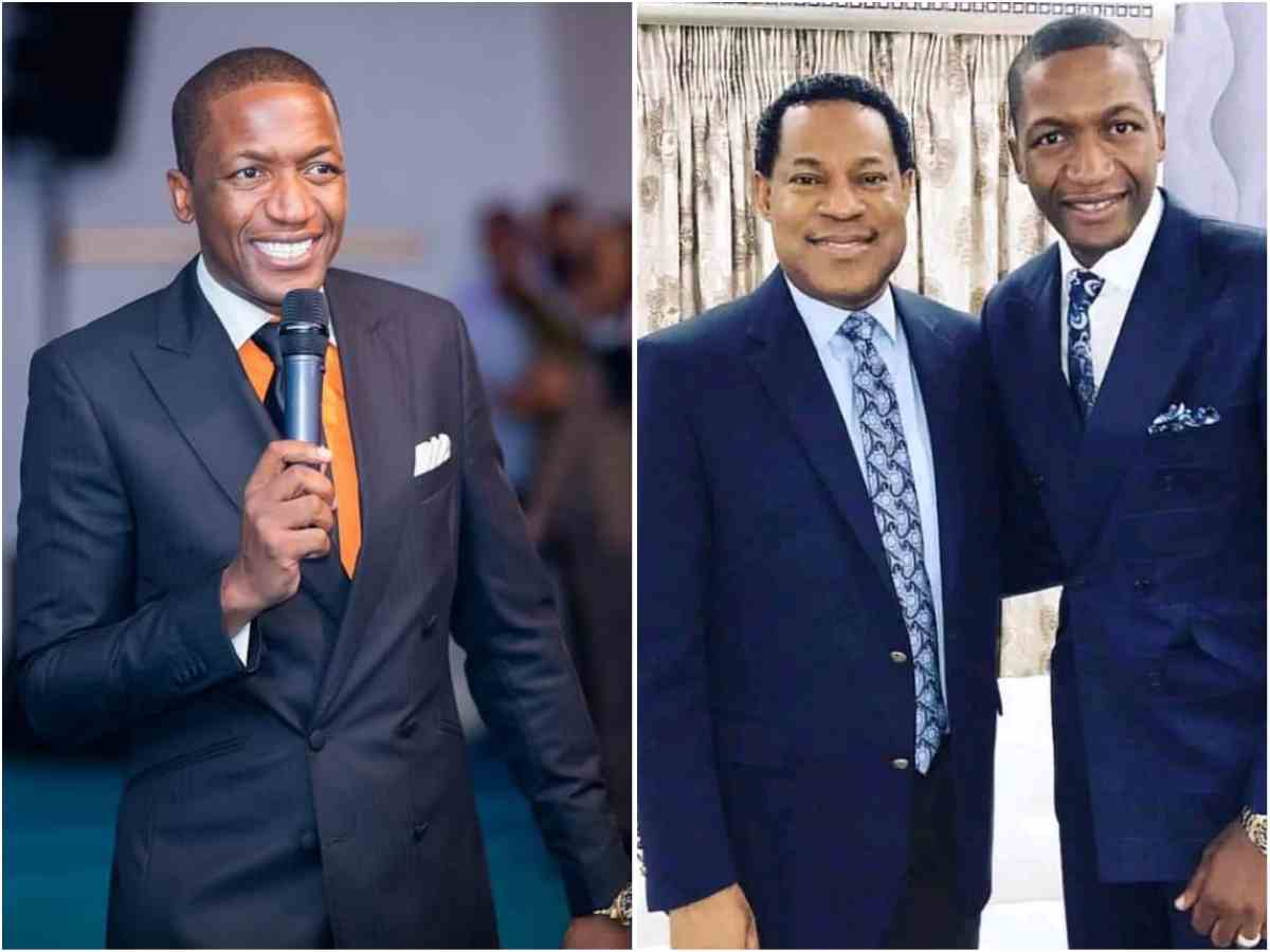 Uebert Angel reveals the one reason he can leave Pastor Chris Oyakhilome