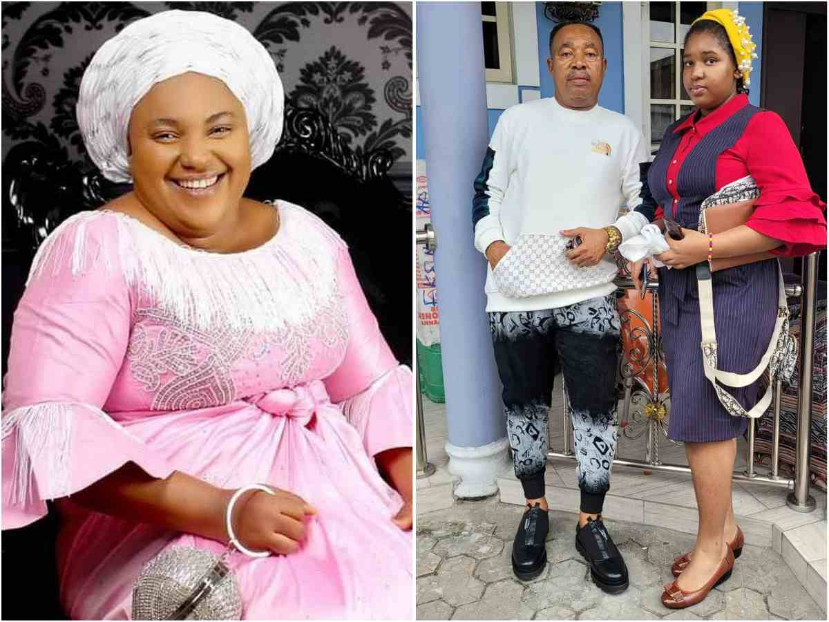 """""""This man nah still guy man o"""" – Social Media Reacts As Chioma Jesus Post Her Husband And Her Beautiful Daughter Online"""