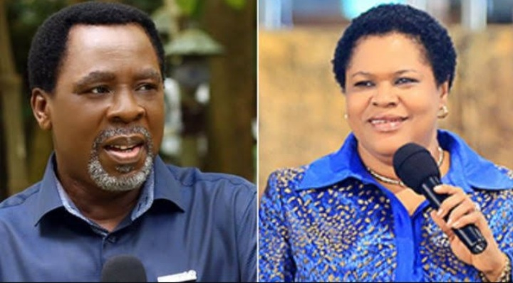 Fight over TB Joshua church as group kicks against widow's takeover