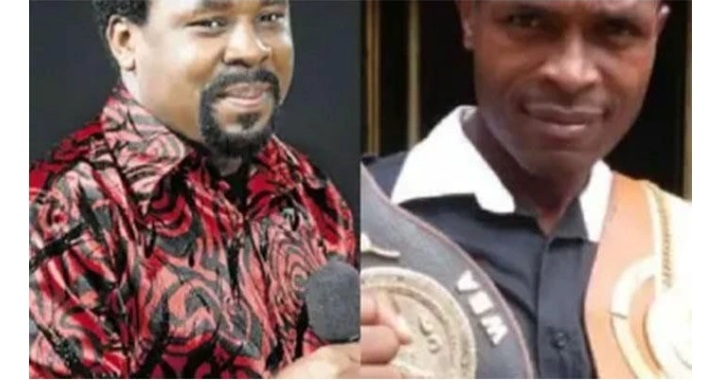 Synagogue Must Not Die, Cries Boxing Champ, Apostle Oboh