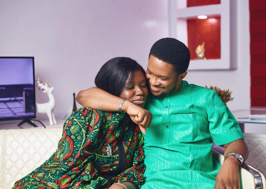 """Loved-up Pictures of Darasimi And Lawrence Oyor As They Set to Release """"How we met"""" Part 2"""