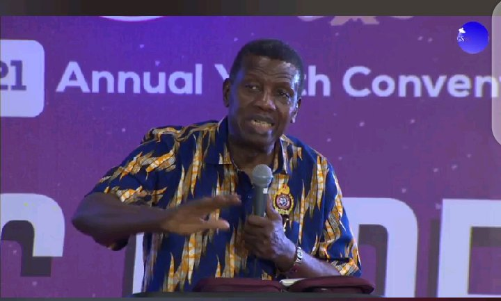2 Things were observed as Pastor Adeboye Preached At The RCCG Youth Convention