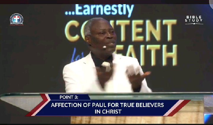 3 Crucial Things Pastor Kumuyi Emphasize on As He Preached Love Among Christians