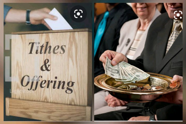 Types of tithe and offering that is unacceptable before God in the Church
