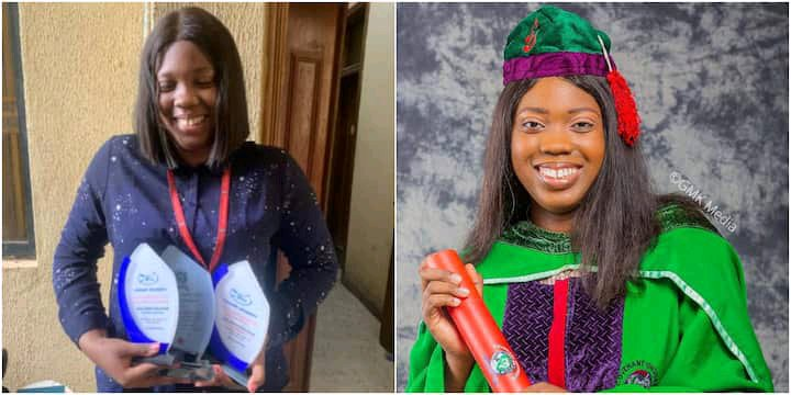 Meet The 21-Year-Old Lady Who Emerged As Covenant University Best Graduating Student With A Perfect 5.0 CGPA